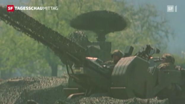 Video «Boomende Waffenindustrie» abspielen