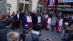 Video «Empfang der neuen Bundesrätinnen in der Heimat» abspielen