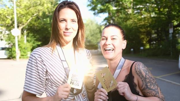 Mitch (28) und Chris (30) gewinnen den SRF 3-Festival-Superpass