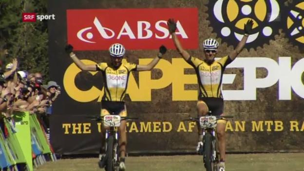 Video «Rad: Sauser gewinnt Cape Epic» abspielen