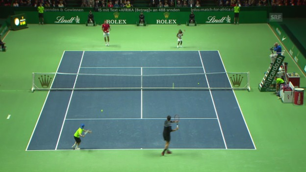 Video «Tennis: MfA, Warmup» abspielen