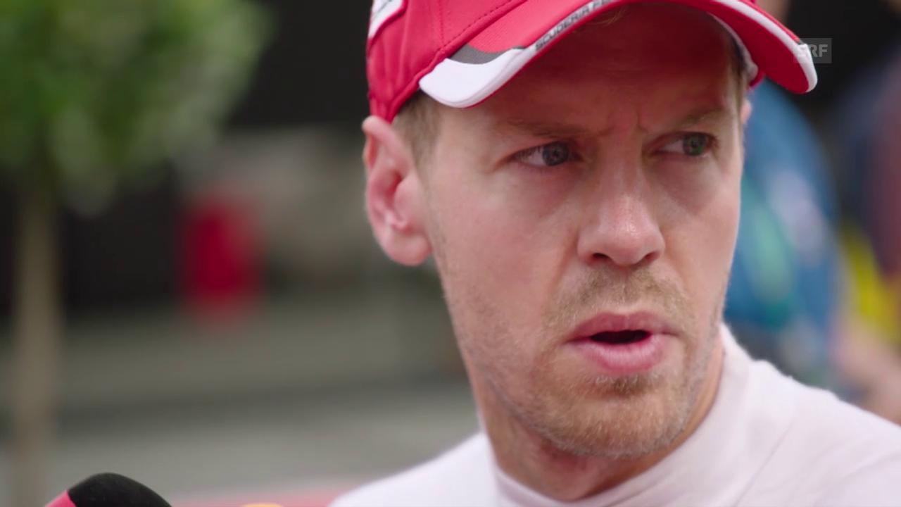 Formel 1: GP Belgien, Interview Sebastian Vettel