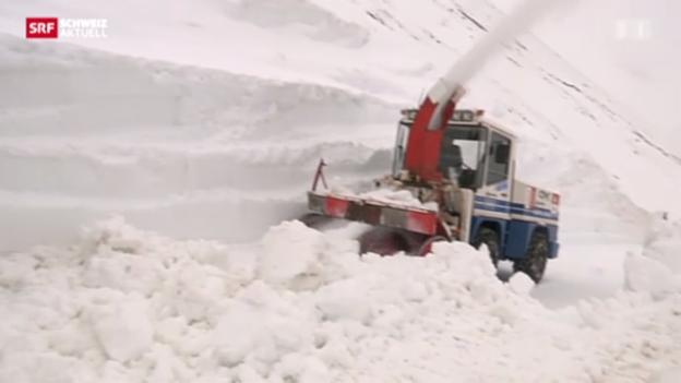 Video «Schneeräumung Brienzer Rothorn» abspielen