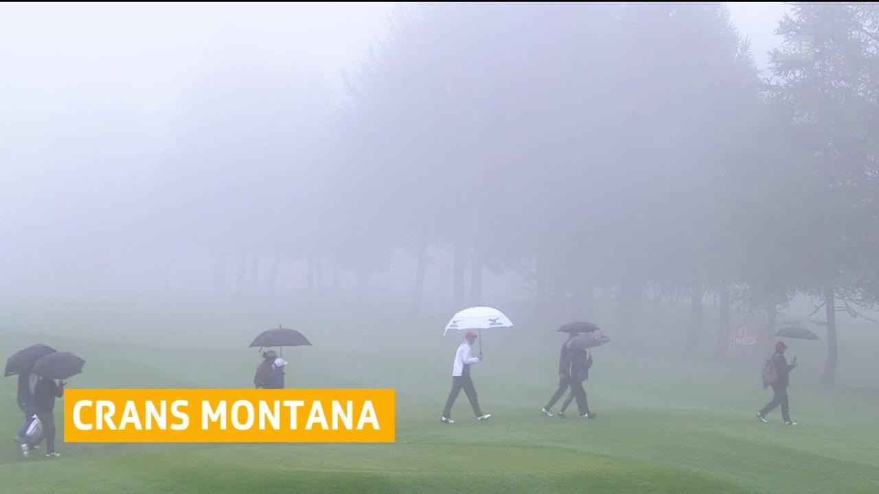 In Crans-Montana ist Geduld gefragt