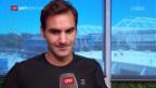 Video «Federer vor den Australian Open» abspielen