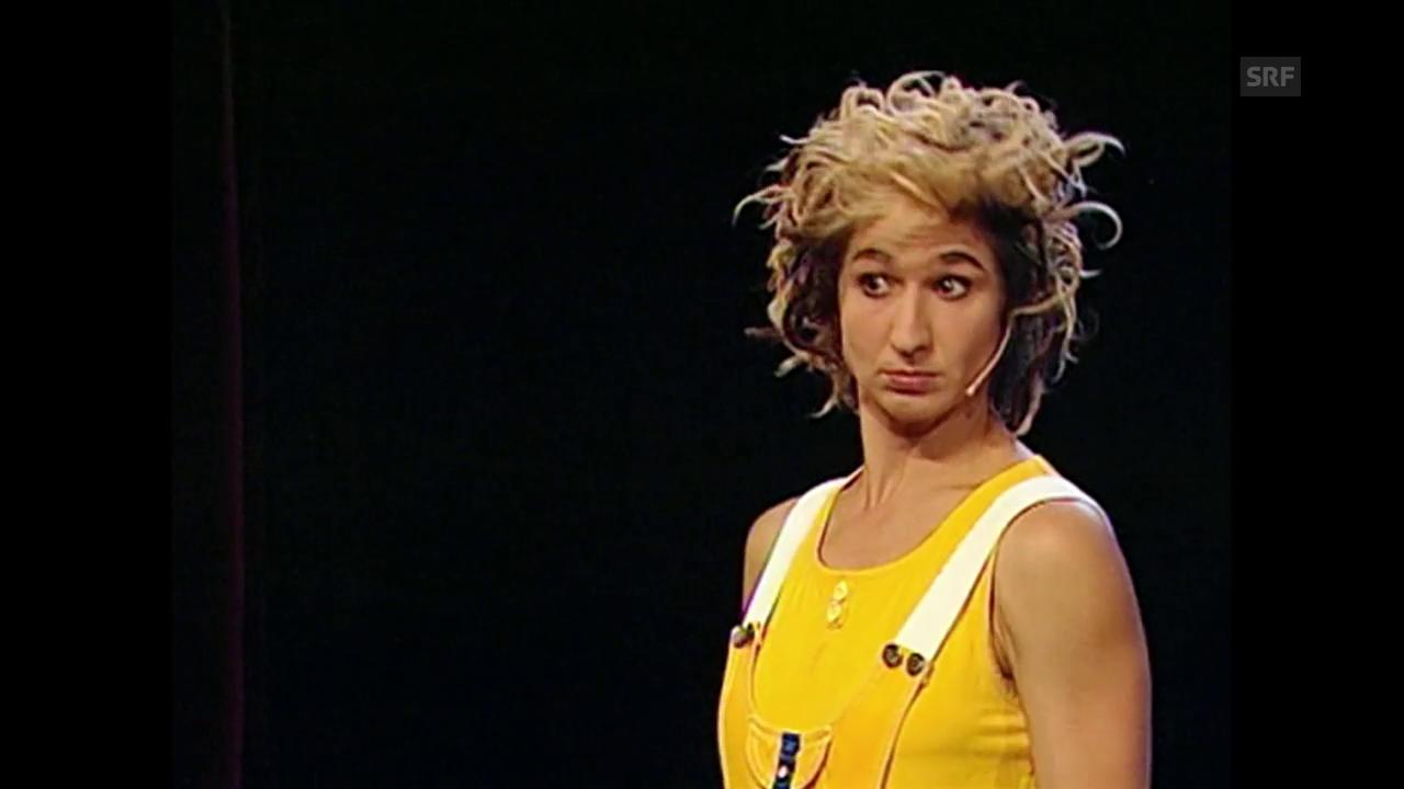 Nadja Siegers schönste Momente als Bühnenfigur «Nadeschkin»