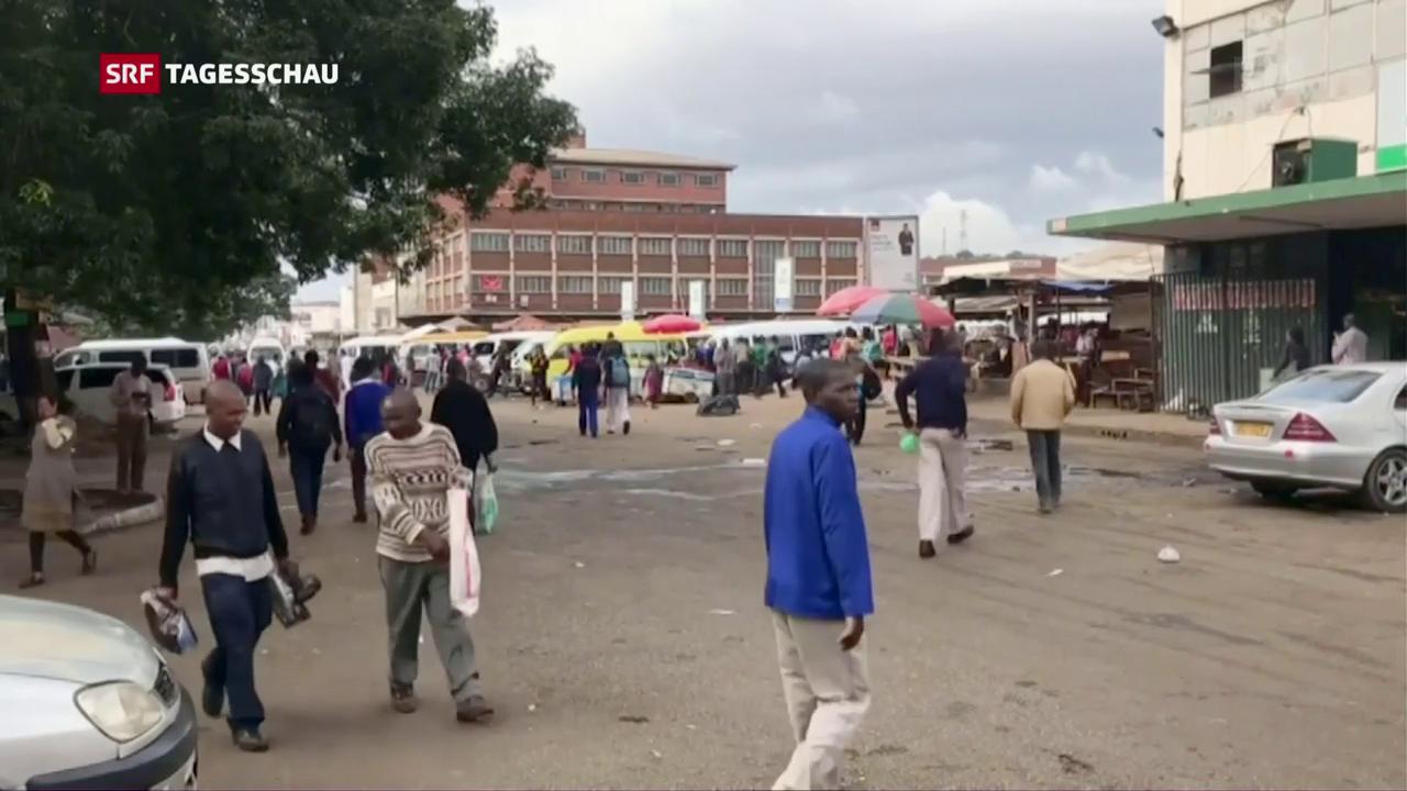 Trotz Putsch, entspannte Atmosphäre in Harare