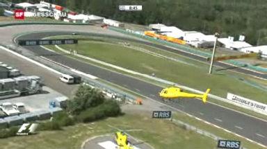 Video «Felipe Massas Unfall» abspielen