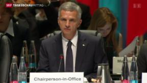 Video «Basel im Bann der Internationalen Politik» abspielen