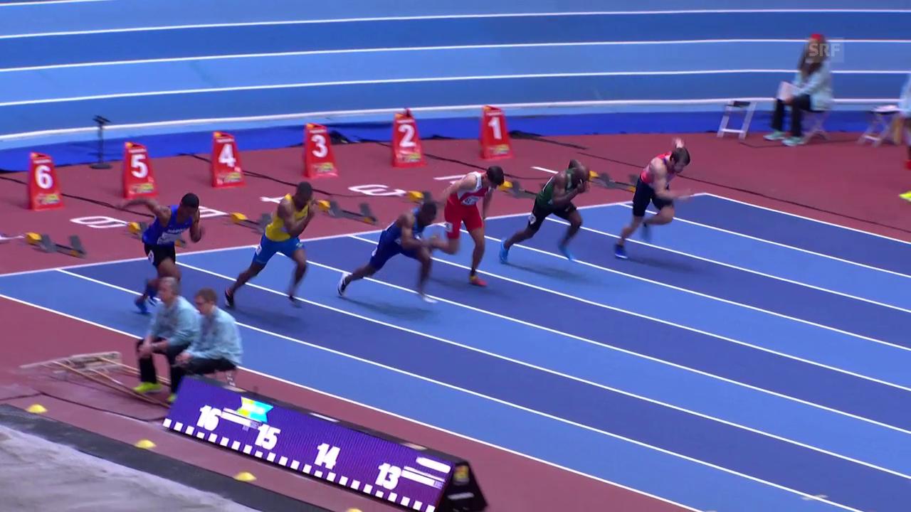 Coleman im 60-m-Vorlauf