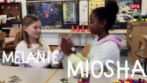 Laschar ir video «Melanie e Miosha»