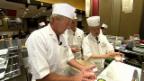 Video Der «Jobtausch» in Japan und der Schweiz: Die Köche abspielen.