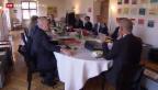Video «Bundesrats-Sitzung im Kanton Schwyz» abspielen