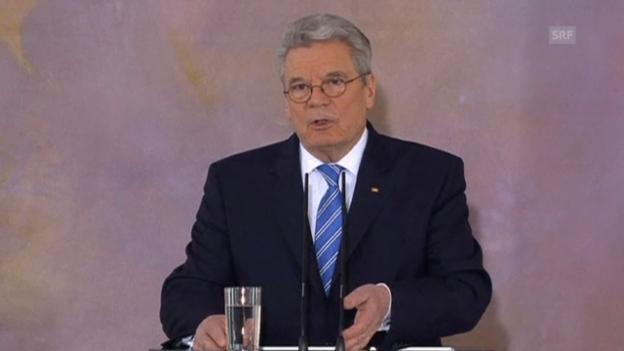 Video «Europa-Rede von Joachim Gauck» abspielen
