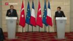 Video «Macron schlägt neue Partnerschaft mit der Türkei vor» abspielen
