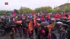Video «Tausende demonstrieren am 1. Mai» abspielen