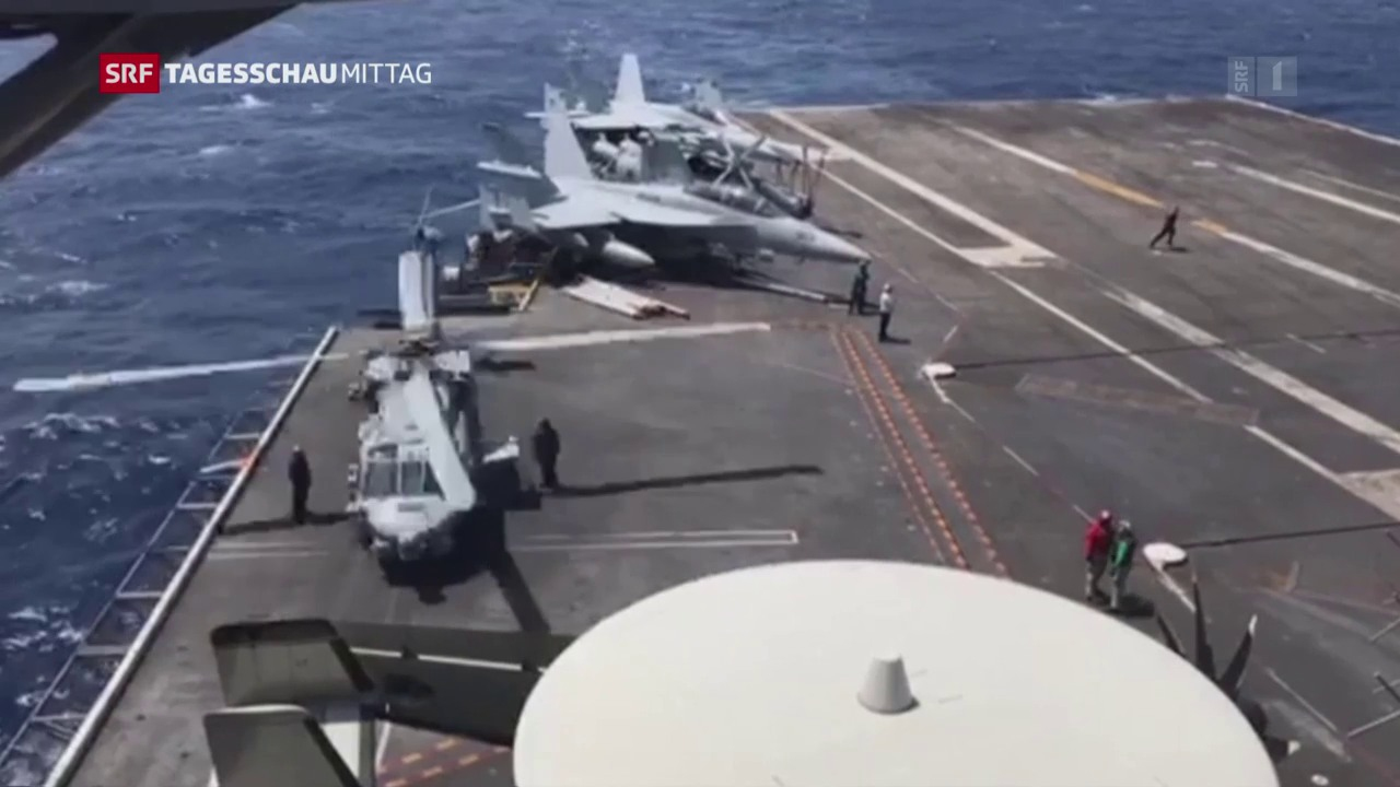 USA schicken Marineeinheiten Richtung Korea