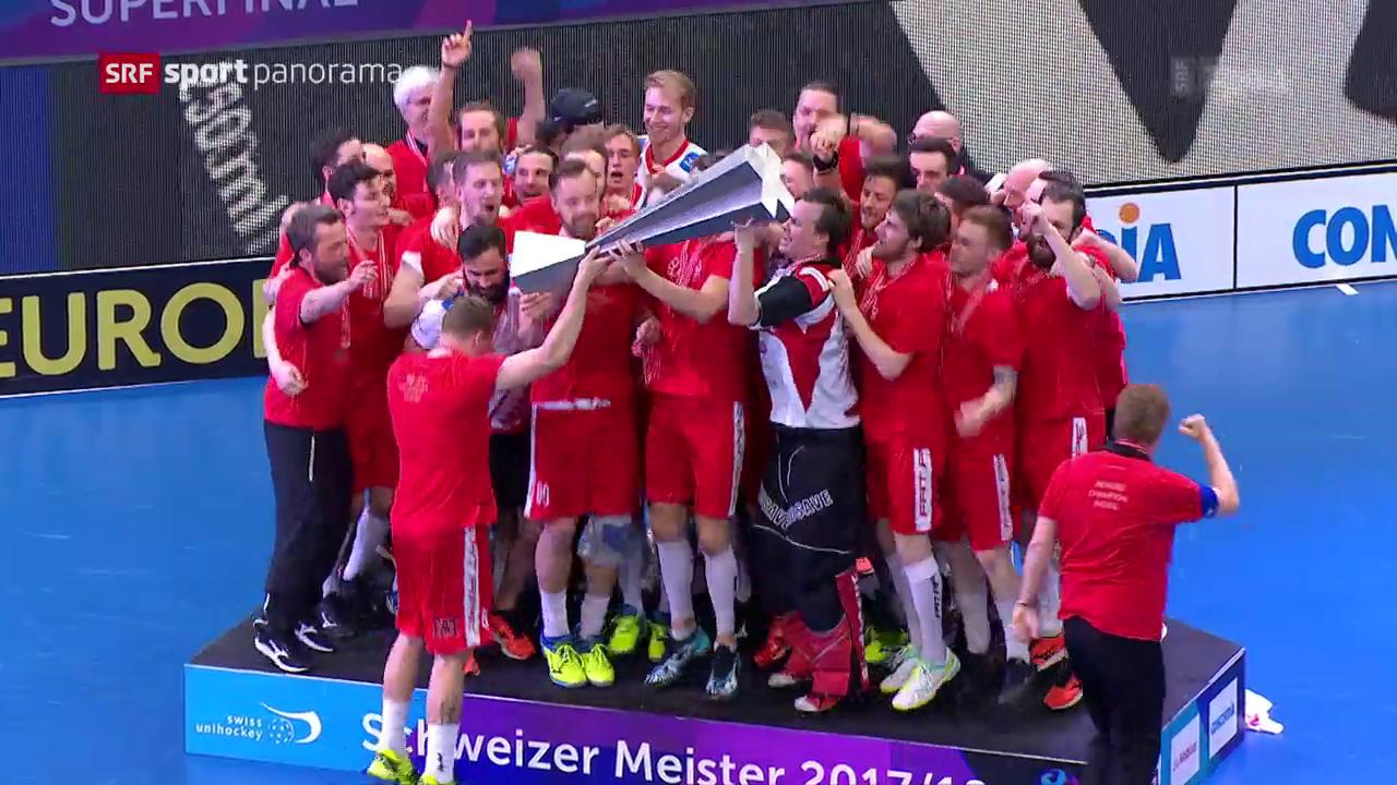 Unterdog gewinnt den Superfinal