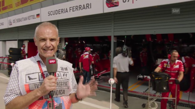 Video «Ferrari muss im eigenen Land aufs Podest fahren» abspielen