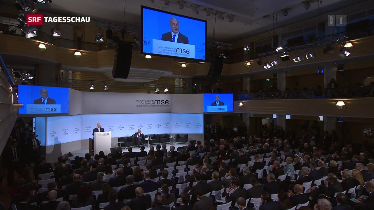 Unsicherheit im Nahen Osten überschattet Münchner Sicherheitskonferenz
