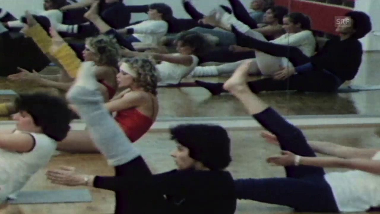 Aerobics mit Sydne Rome 1982