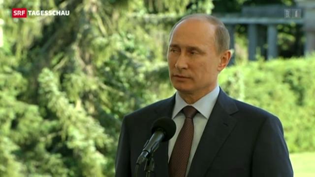 Putin legt Spur zu Snowden