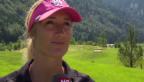 Video «Adolf Ogis und Tanja Friedens Kopfarbeit beim Golfen» abspielen