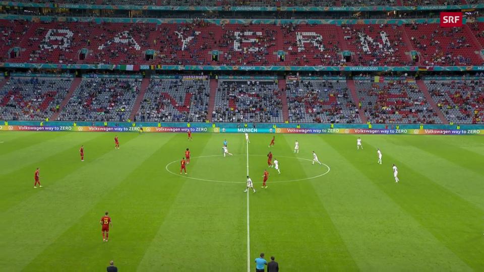 Ils highlights da la partida Belgia – Italia