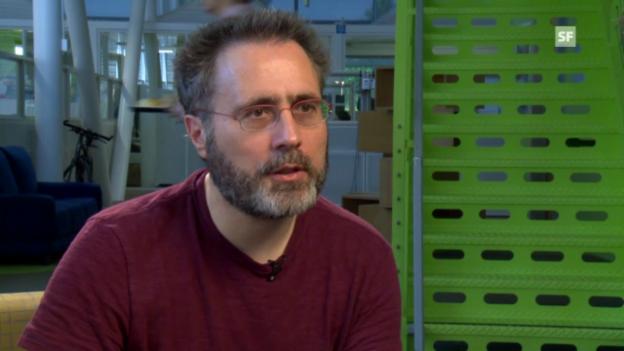 Video «Urs Hölzle über das Google-Datencenter in Finnland.» abspielen