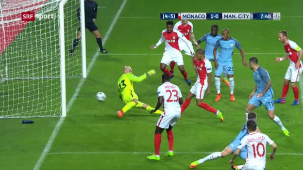Video «Juwel Mbappé trifft zum 1:0» abspielen