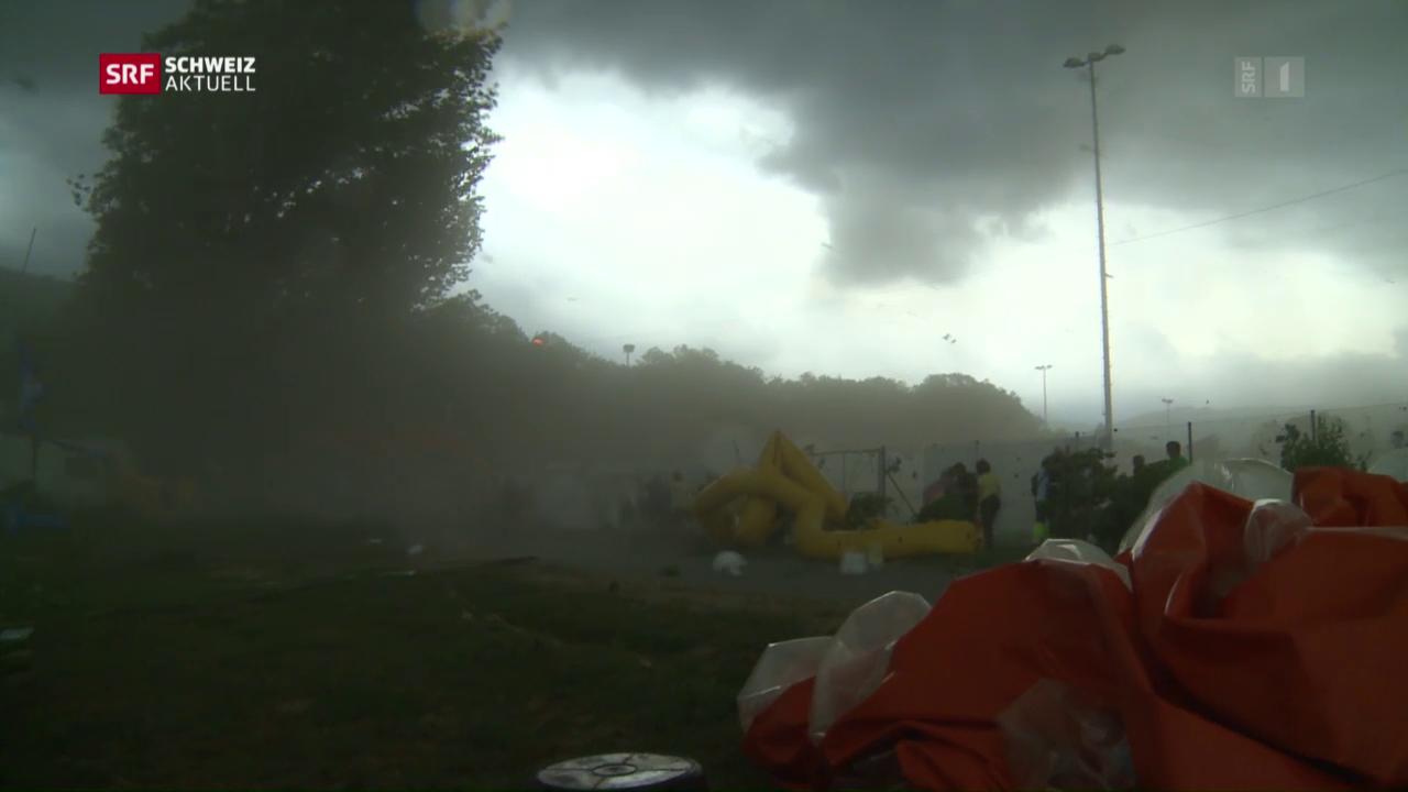 Evakuierung am Turnfest kam zu spät