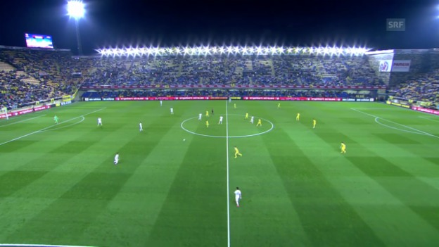 Video «Fussball: EL, Highlights Villarreal - Zürich» abspielen
