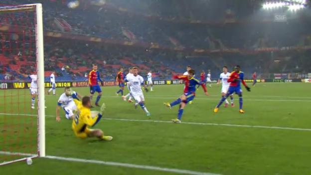 Video «Stockers 1:0 gegen Dnjepr Dnjepropetrowsk» abspielen