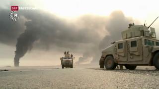 Video «Sturm auf Mossul geht zäh voran» abspielen