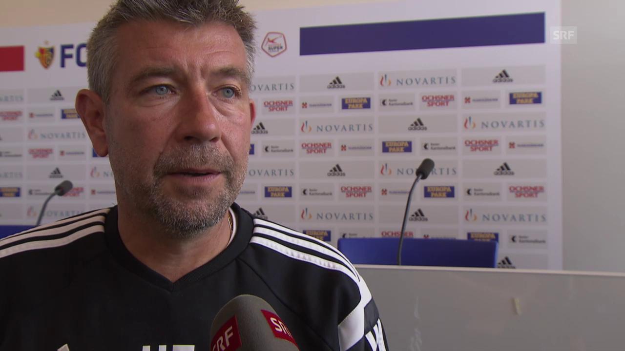 Fussball: Urs Fischer über die Gruppengegner in der Europa League