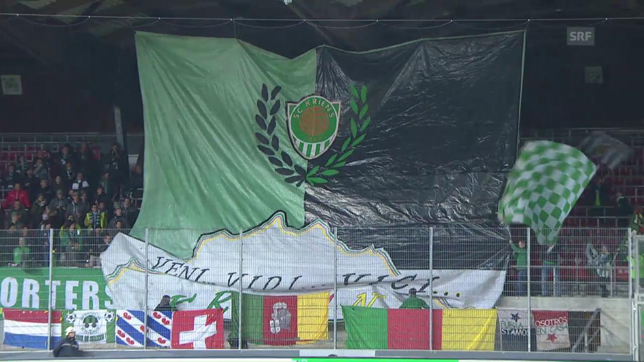 Zusammenfassung Cup-Viertelfinal Sion - Kriens
