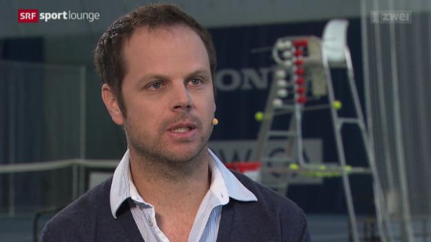 Video «Wer ist Severin Lüthi, der Coach von Roger Federer?» abspielen