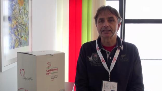 Video «Ski-WM: 3 Fragen an Zitz» abspielen