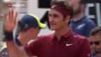 Video «Erfolgreiches Comeback von Roger Federer» abspielen