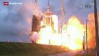 Video «Eine neue Ära für die US-Weltraumforschung» abspielen