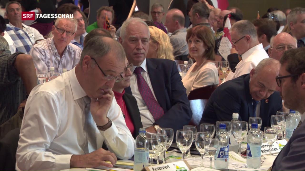 SVP will keinen EU-Rahmenvertrag