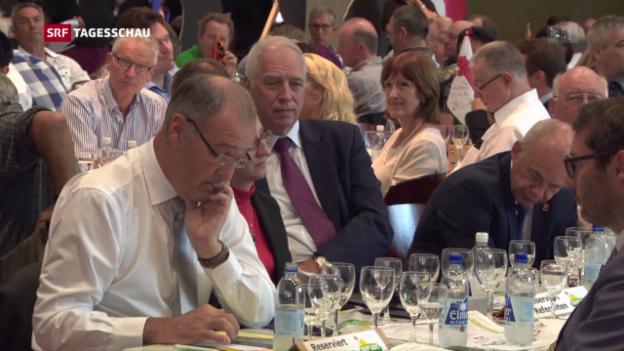 Video «SVP will keinen EU-Rahmenvertrag» abspielen