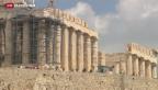 Video «Rekordjahr für den Tourismus Griechenlands» abspielen
