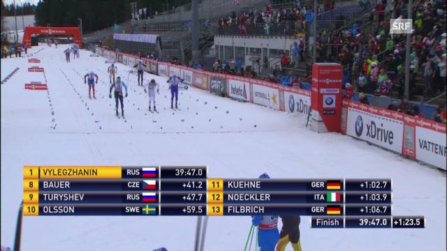 2. Etappe der Tour de Ski («sportaktuell»)
