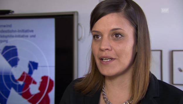 Video «Martina Imfeld: Vergleich mit der Familien-Initiative» abspielen