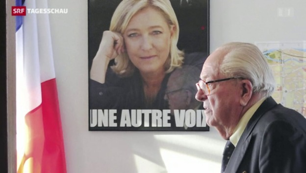 Video «Le Pen-Familienstreit eskaliert» abspielen
