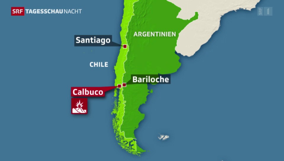 Vulkanausbruch in Chile