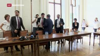 Video «Maudet muss Regierungspräsidium abgeben» abspielen