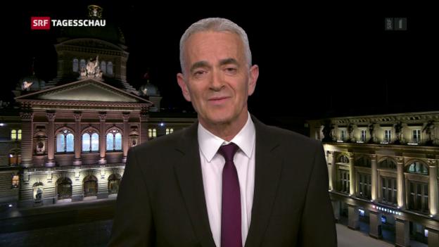 Video «Korrespondent Reimann: «Es wurde knapp, weil niemand das Lager wechselte»» abspielen