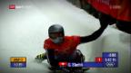 Video «Kopf voran durch den Eiskanal: Skeleton-Ass Gregor Stähli» abspielen